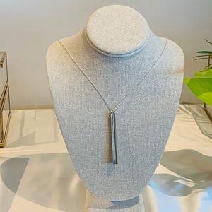 Pillar Necklace (Silver)